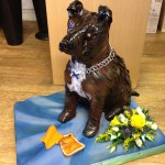 Dog Staffy Bespoke Funeral Tribute