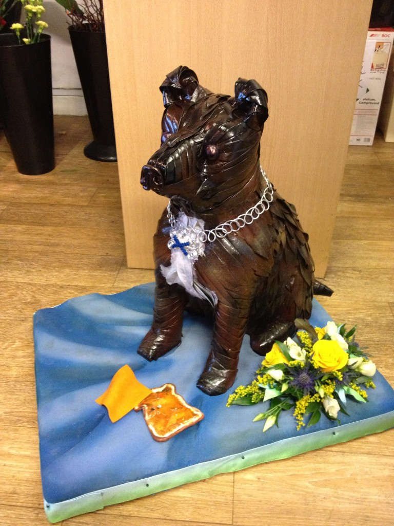 Bespoke funeral tributes dog staffy bespoke funeral tribute izmirmasajfo