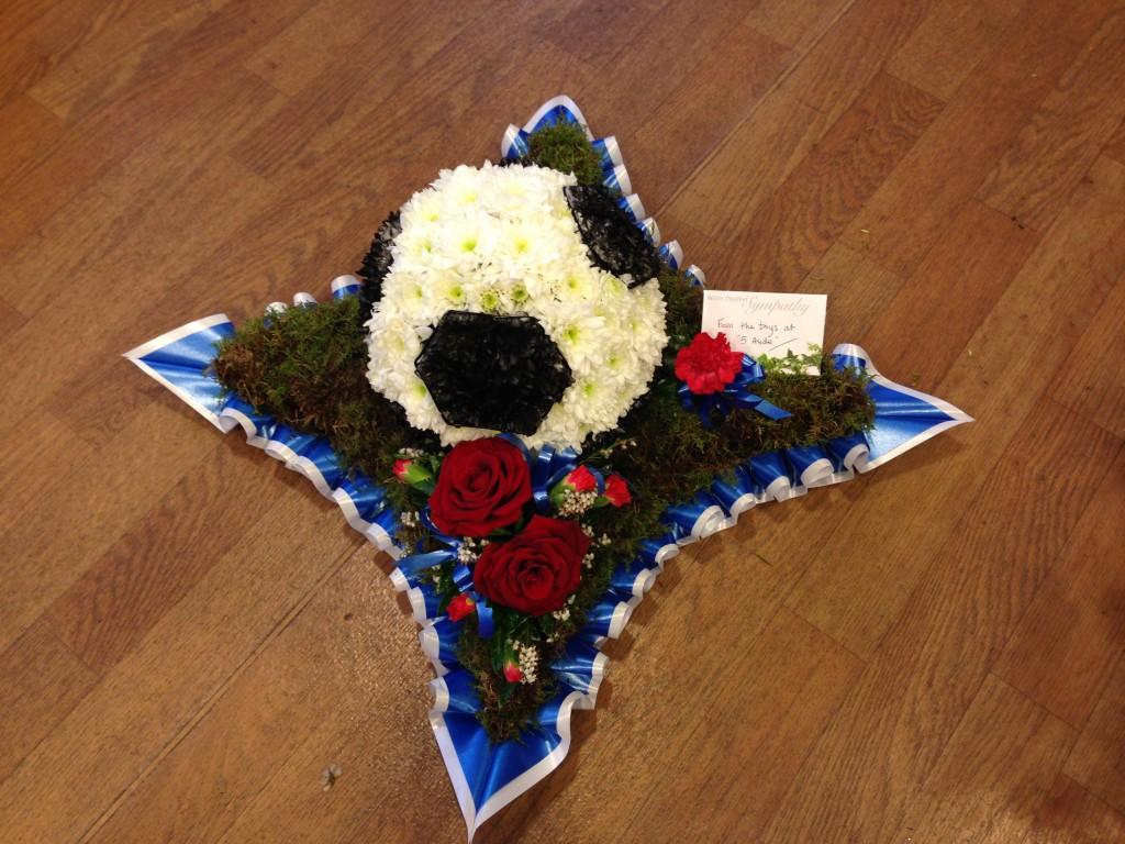 Bespoke funeral tributes football on cushion rangers 1024x768g izmirmasajfo Images