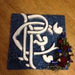 Rangers Tribute Bespoke Funeral Tribute