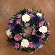 "Wreath Standard 10:12"" P:P:W"