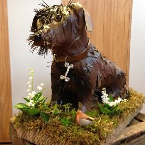 Dog Bespoke Funeral Tribute