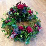 Scottish Burns Style Wreath