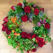 Wreath ring Scottish Country Style